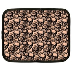 Skulls Pattern  Netbook Case (xxl)  by Valentinaart