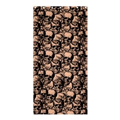 Skulls Pattern  Shower Curtain 36  X 72  (stall)  by Valentinaart