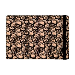 Skulls Pattern  Apple Ipad Mini Flip Case by Valentinaart