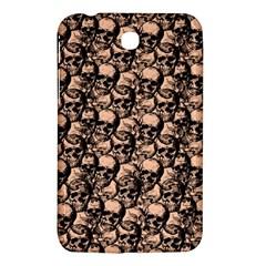 Skulls Pattern  Samsung Galaxy Tab 3 (7 ) P3200 Hardshell Case  by Valentinaart