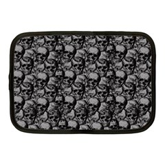 Skulls Pattern  Netbook Case (medium)  by Valentinaart