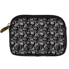 Skulls Pattern  Digital Camera Cases by Valentinaart