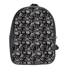 Skulls Pattern  School Bags (xl)  by Valentinaart