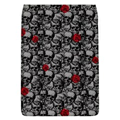 Skulls And Roses Pattern  Flap Covers (l)  by Valentinaart
