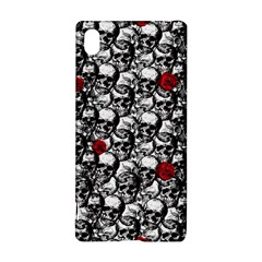 Skulls And Roses Pattern  Sony Xperia Z3+ by Valentinaart