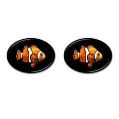 Clown Fish Cufflinks (oval) by Valentinaart