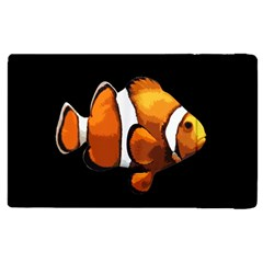 Clown Fish Apple Ipad 2 Flip Case by Valentinaart