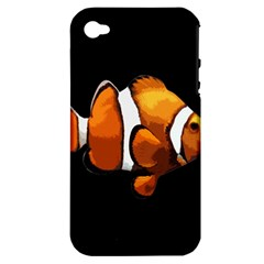 Clown Fish Apple Iphone 4/4s Hardshell Case (pc+silicone) by Valentinaart