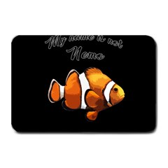 Clown Fish Plate Mats by Valentinaart
