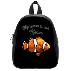 Clown Fish School Bags (small)  by Valentinaart