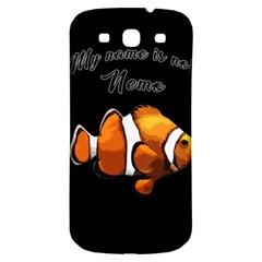 Clown Fish Samsung Galaxy S3 S Iii Classic Hardshell Back Case by Valentinaart