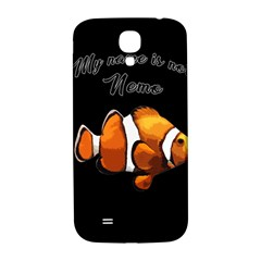 Clown Fish Samsung Galaxy S4 I9500/i9505  Hardshell Back Case by Valentinaart