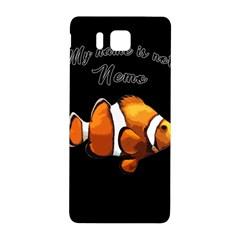 Clown Fish Samsung Galaxy Alpha Hardshell Back Case by Valentinaart