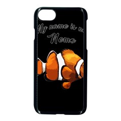 Clown Fish Apple Iphone 7 Seamless Case (black) by Valentinaart