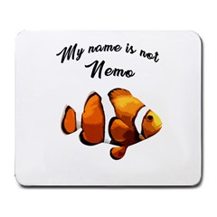 Clown Fish Large Mousepads by Valentinaart
