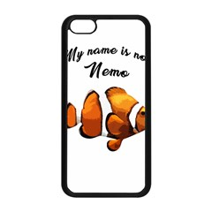 Clown Fish Apple Iphone 5c Seamless Case (black) by Valentinaart
