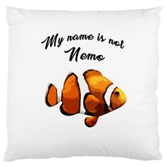 Clown Fish Standard Flano Cushion Case (one Side) by Valentinaart