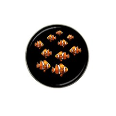 Clown Fish Hat Clip Ball Marker (4 Pack) by Valentinaart