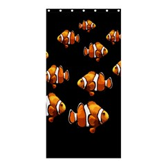Clown Fish Shower Curtain 36  X 72  (stall)  by Valentinaart