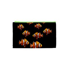 Clown Fish Cosmetic Bag (xs) by Valentinaart