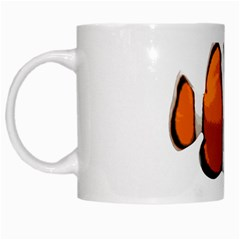 Clown Fish White Mugs by Valentinaart