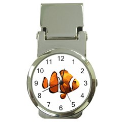 Clown Fish Money Clip Watches by Valentinaart