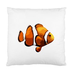 Clown Fish Standard Cushion Case (two Sides) by Valentinaart