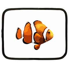 Clown Fish Netbook Case (xxl)  by Valentinaart