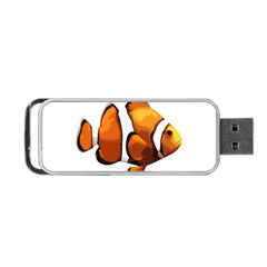 Clown Fish Portable Usb Flash (two Sides) by Valentinaart