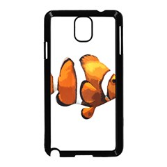 Clown Fish Samsung Galaxy Note 3 Neo Hardshell Case (black) by Valentinaart