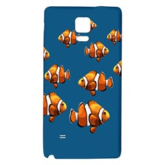 Clown Fish Galaxy Note 4 Back Case by Valentinaart