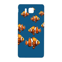 Clown Fish Samsung Galaxy Alpha Hardshell Back Case by Valentinaart