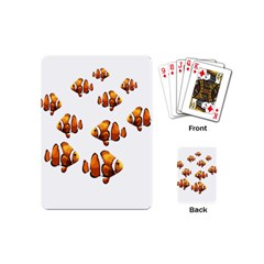 Clown Fish Playing Cards (mini)