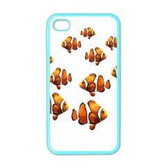 Clown Fish Apple Iphone 4 Case (color) by Valentinaart