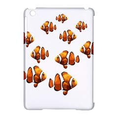 Clown Fish Apple Ipad Mini Hardshell Case (compatible With Smart Cover) by Valentinaart