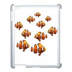 Clown Fish Apple Ipad 3/4 Case (white) by Valentinaart