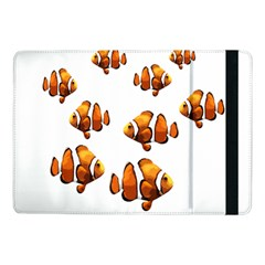 Clown Fish Samsung Galaxy Tab Pro 10 1  Flip Case by Valentinaart