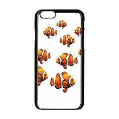 Clown Fish Apple Iphone 6/6s Black Enamel Case by Valentinaart