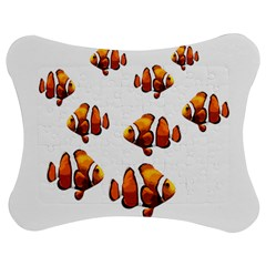 Clown Fish Jigsaw Puzzle Photo Stand (bow) by Valentinaart