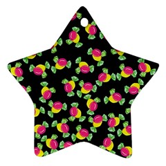 Candy Pattern Ornament (star) by Valentinaart