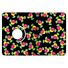 Candy Pattern Kindle Fire Hdx Flip 360 Case by Valentinaart
