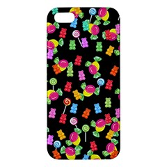 Candy Pattern Iphone 5s/ Se Premium Hardshell Case by Valentinaart
