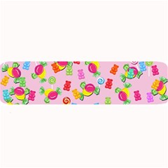 Candy Pattern Large Bar Mats by Valentinaart