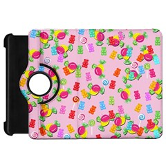 Candy Pattern Kindle Fire Hd 7  by Valentinaart