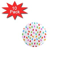 Candy Pattern 1  Mini Magnet (10 Pack)  by Valentinaart