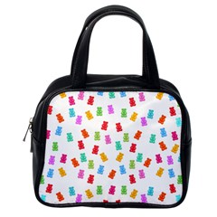 Candy Pattern Classic Handbags (one Side) by Valentinaart