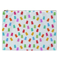 Candy Pattern Cosmetic Bag (xxl)  by Valentinaart