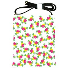 Candy Pattern Shoulder Sling Bags by Valentinaart