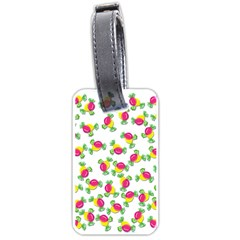 Candy Pattern Luggage Tags (two Sides) by Valentinaart
