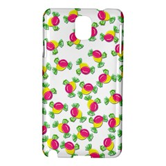 Candy Pattern Samsung Galaxy Note 3 N9005 Hardshell Case by Valentinaart